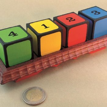 Colored Number Blocks