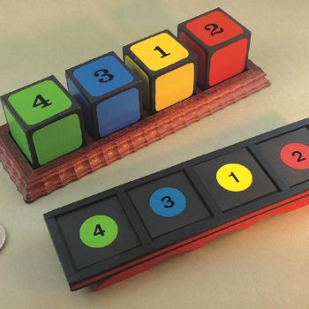 Colored Number Blocks